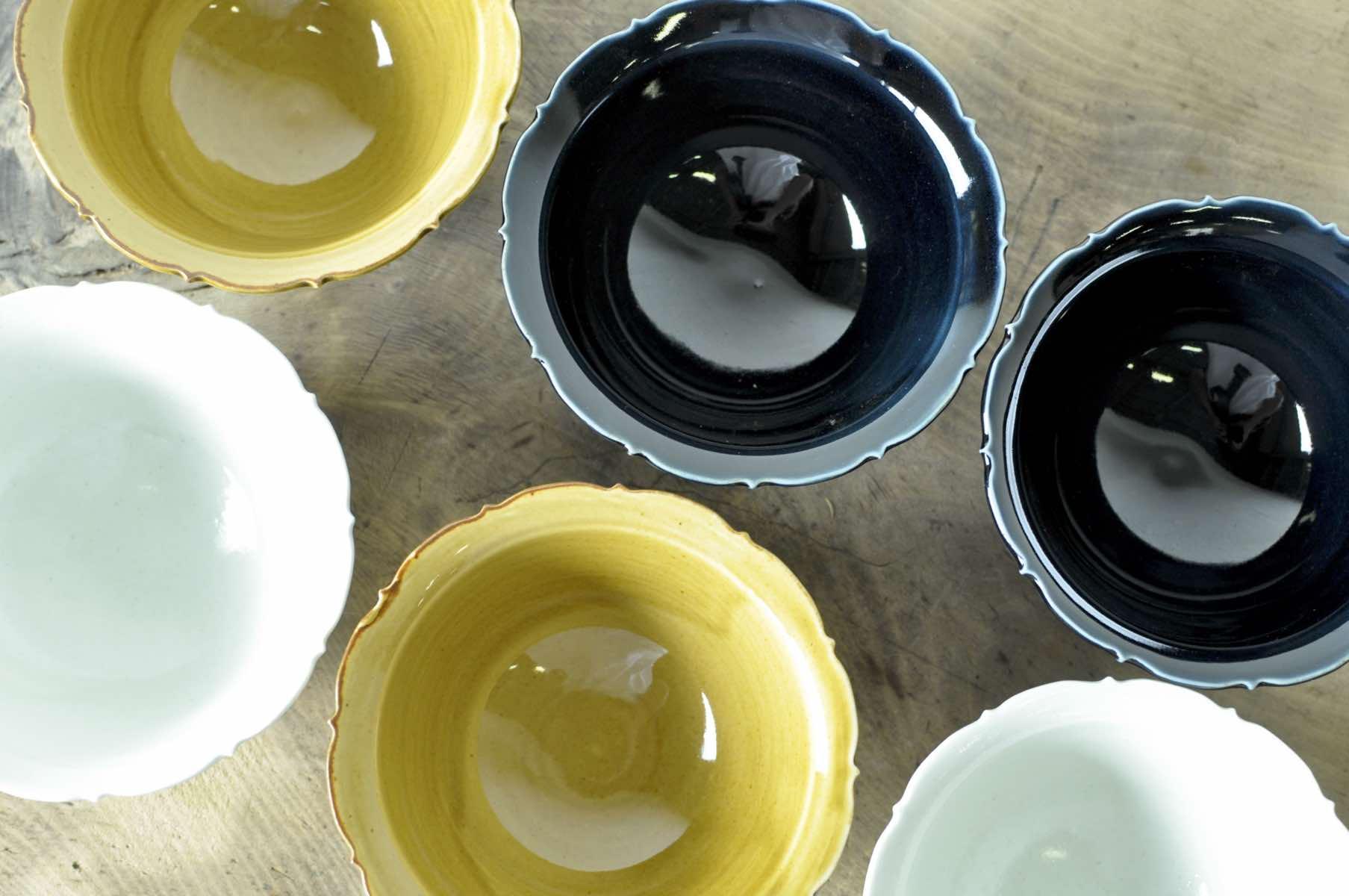 長野県の陶芸家阿部春弥さんの器